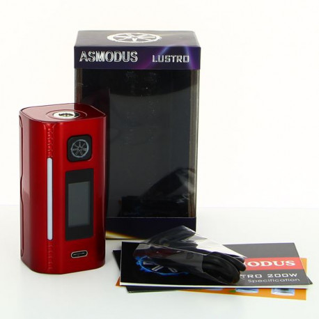 Box Lustro 200W TouchScreen TC Asmodus