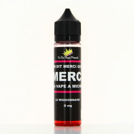 Le Missionnaire Merci La Vape a Michel In Da Vape 50ml 00mg
