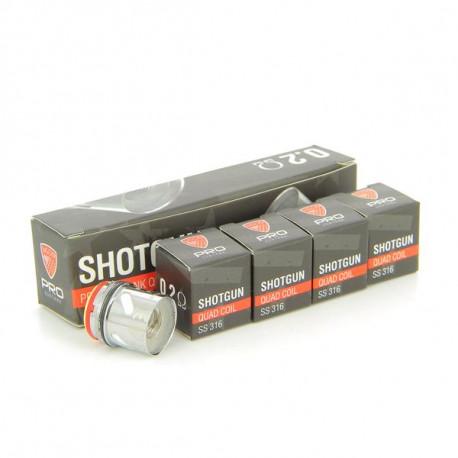 Pack de 5 resistances GUNSHOT Pro Subtank 0.2ohm VGod
