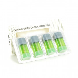 Pack de 4 resistances + reservoir 1.5ml Mini Pod Smoke Vape