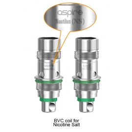 Pack de 5 resistances Nautilus NicSalt 1.8ohms Aspire