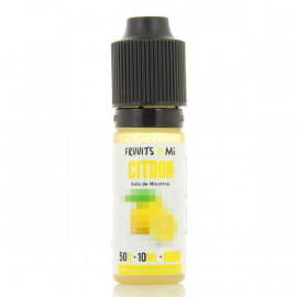 Citron Nic Salt Fruuits By Mi 10ml 20mg