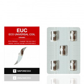 Pack de 5 résistances Ceramic EUC SS316 Estoc-Target Pro-ORC 0.3ohm Vaporesso