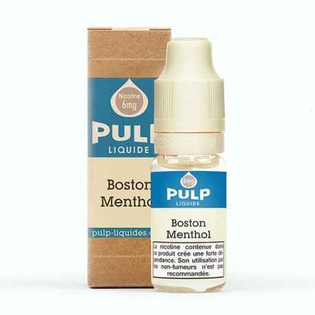 Boston Menthol Pulp 10ml