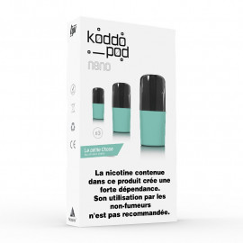 Pack de 3 Pods de 2ml La Petite Chose Le French Liquide KoddoPod