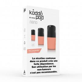 Pack de 3 Pods de 2ml Red Commander Le French Liquide KoddoPod