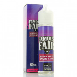 Strawberry Pound Cake Famous Fair 50ml