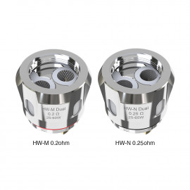 Pack de 5 résistances HW-M Dual / HW-N Dual Eleaf