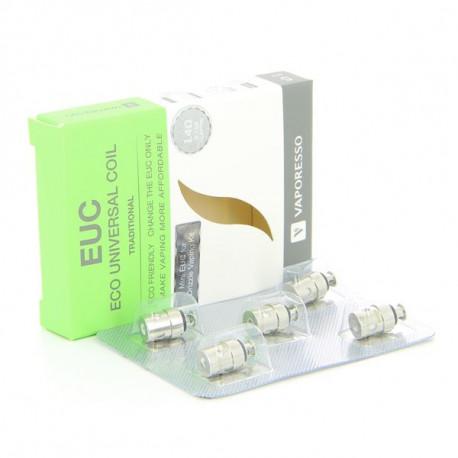 Pack de 5 resistances EUC Mini Traditional 1.4ohm Vaporesso
