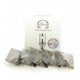 Pack de 5 résistances I Sub Plex 3D 0.35 ohm innokin