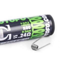 Pack de 10 coils Braided Ni80 (0.3x0.6+40x32) Wotofo