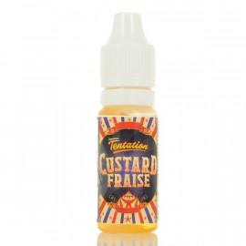 Custard Fraise Custard Collection Liquideo Tentation 10ml