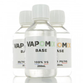 Base 250ml 00mg Vapomix
