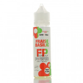 Fraise Basilic 50/50 Flavour Power 50ml 00mg