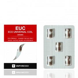 Pack de 5 résistances EUC Mini Céramique 1.4ohm Vaporesso