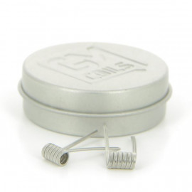 Boite de 2 Coils Alien Medium 26gx2(Ka1)+36g(N80) 0.22ohm GM Coils