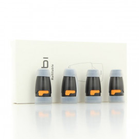 Pack de 4 Pods 1.7ml 1.8ohm Kubi Hotcig