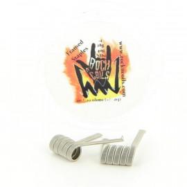 Boite de 2 Coils Framed Staple 0.1ohm NI80 Rock n' Coils