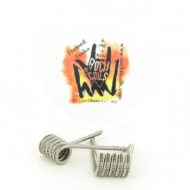 Boite de 2 Coils Framed Tsuka 0.1ohm NI80 Rock n' Coils