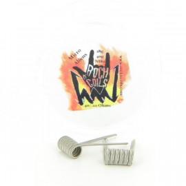 Boite de 2 Coils Aliens Micro 28gax3+40ga 0.20ohms NI80 Rock n' Coils