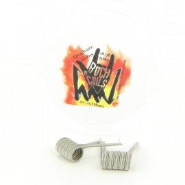 Boite de 2 Coils Quadcore Aliens 28gax4+38ga 0.15ohm NI80 Rock n' Coils