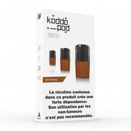 Pack de 3 Pods de 2ml USA Strong Le French Liquide KoddoPod