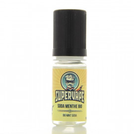Soda Menthe Bio arôme 10ml SuperVape