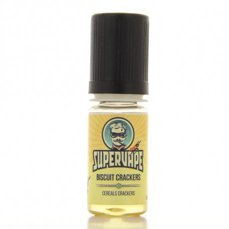 Biscuit Crackers arôme 10ml SuperVape