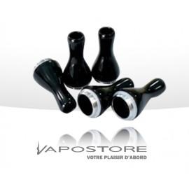 Drip tips T2 plastique Noir