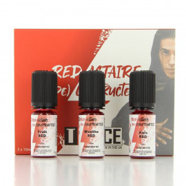 Pack DIY Red Astaire Concentre T Juice 3X10ml