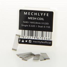 Pack de 10 Mesh Coil NI80 0.22ohm MechLyfe