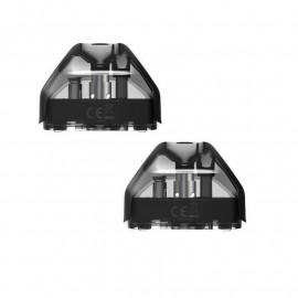 Pack de 2 Pods 2ml + résistance Ceramic 1.3ohm Avp Aspire