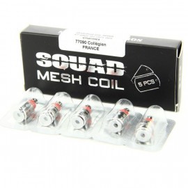 Pack de 5 résistances Squad Mesh 0.6ohm Squid Industries