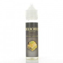Baklawa Pistache Delicieux Liquide 50ml 00mg + Booster Nic Up 10ml 18mg