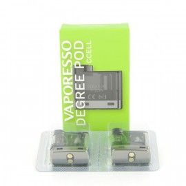 Pack de 2 pods 2ml Ccell 1.3ohm Degree Vaporesso