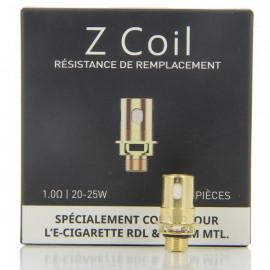 Pack de 5 résistances RDL ZCoil 1.0ohm Zenith-Zlide Innokin