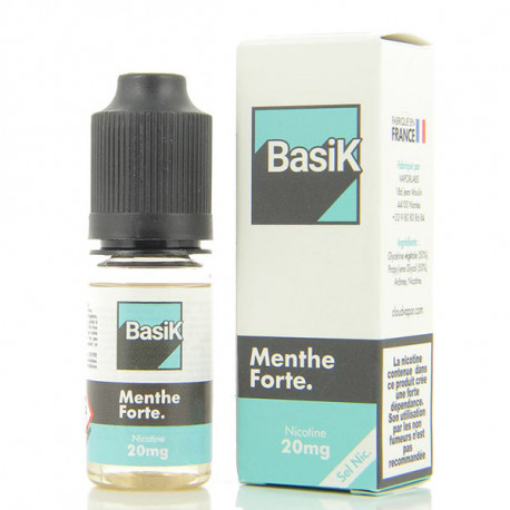 M Classic Nic Salt BasiK Cloud Vapor 10ml