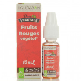 Fruits Rouges Base Végétale By Liquidarom 10ml