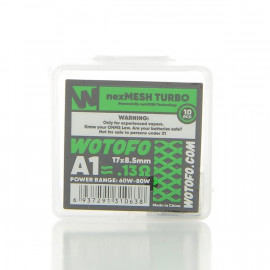 Pack de 10 coils NexMesh Turbo A1 0.13ohm Wotofo