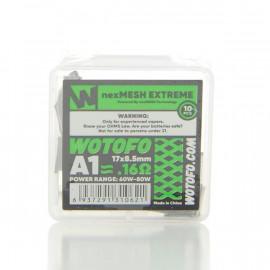 Pack de 10 coils NexMesh Extreme A1 0.16ohm Wotofo
