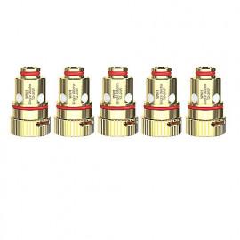 Pack de 5 résistances Single 0.8ohm R80 Wismec