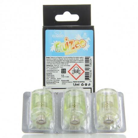 Pack de 3 Pods de 1.8ml Sunny Fruizee Esalt EliquidFrance Slym Aspire 20mg
