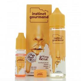 Honey & Milk Instinct Gourmand Alfaliquid 50ml 00mg + Booster