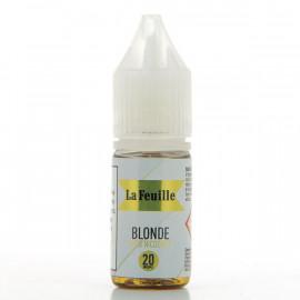 Blonde Sels Nicosoft La Feuille 10ml 20mg