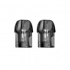Pack de 2 Pods 2ml + résistance 1,2ohm Osmall Vaporesso