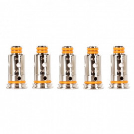 Pack de 5 résistances G coil ST 0.6ohm Aegis Pod GeekVape