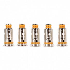 Pack de 5 résistances G coil ST 0.6ohm Aegis Pod/Wenax Stylus GeekVape