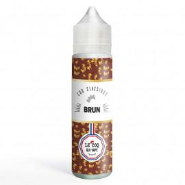 Brun Le Coq Qui Vape Premium 50ml 00mg