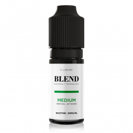 Medium Menthol Nic Salt Blend The Fuu 10ml 20mg