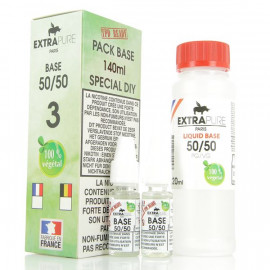 Pack Base 140ml 50/50 03mg Extrapure
